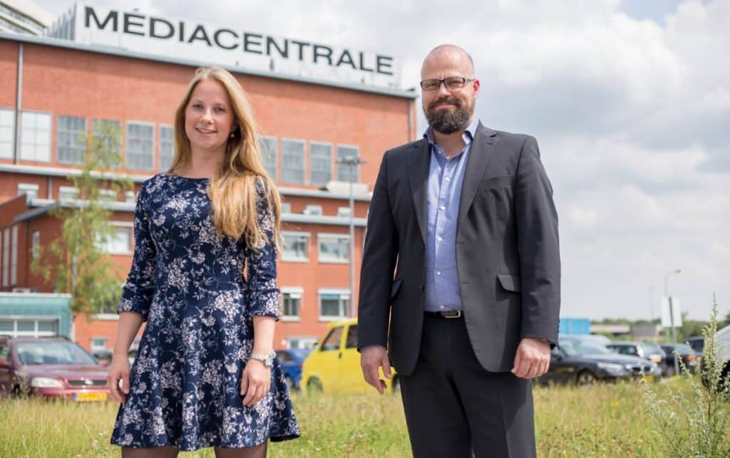 Jessica Hof en Mathieu Paapst – business manager ICTRecht Noord